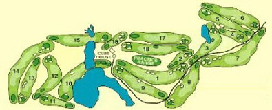 Mystery Valley Golf Club course layout